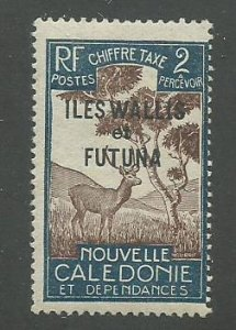 Wallis & Futuna Scott Catalog Number J11 Issued in 1930