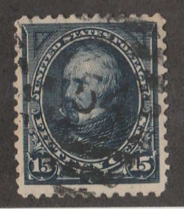 U.S. Scott #274 Clay Stamp - Used Single
