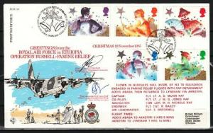 Great Britain, Scott cat. 1124-1128. Christmas issue. First Day Cover.