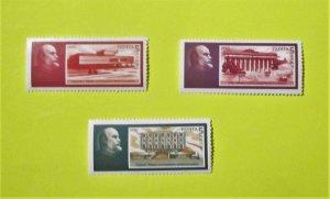Russia - 5885-87, MNH Set. Lenin, 120th Birth Anniversary. SCV = $0.75