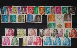Spain 1985 - 1990 Don Juan Carlos used/unused