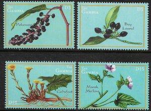 Gambia #2406-9 MNH Set - Medicinal Plants
