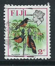 Fiji   QEII SG 436  FU