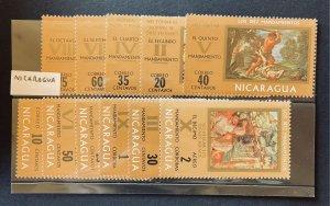 Nicaragua 890-98,C776-777 MNH (SCV $5.80)