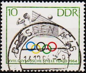 Germany(DDR). 1964 10pf S.G.E755 Fine Used
