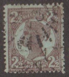 Queensland - Australia Scott #116 Stamp - Used Single