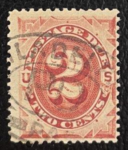 US #J23 Used - 2c Postage Due 1891 [US52.1.1]