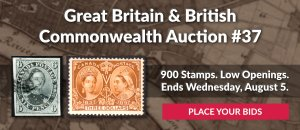 The 37th Great Britain & Commonwealth Auction