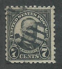 1926 United States Used Scott Catalog Number 588