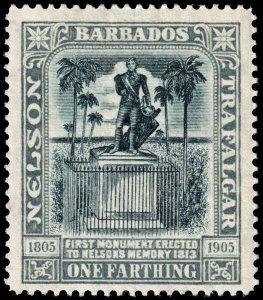 Barbados  - Scott 110 - Mint-Hinged