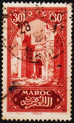 Morocco(French). 1917 30c S.G.132 Fine Used