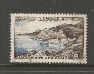 TUNISIA  C19  USED,  COAST AT KORBOUS