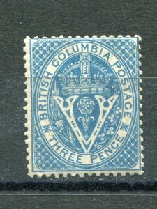 British Columbia #7  Mint  F-VF  NH  -  Lakeshore Philatelics