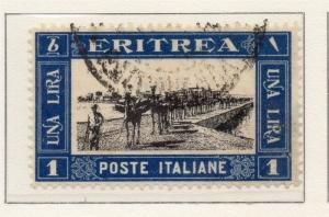 Eritrea 1930 Early Issue Fine Used 1L. 188058