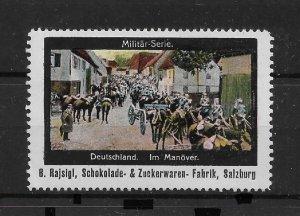 WW-I Propaganda stamp, German Soldiers on a Maneuver: Military Series,VF MNH**