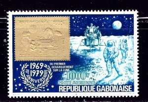 Gabon C224 MNH 1979 Moon Landing Anniv    (ap2032)