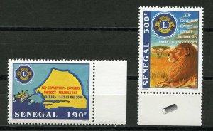 SENEGAL -  LIONS CLUBS,  DAKAR DISTRICT 403   2001  L166