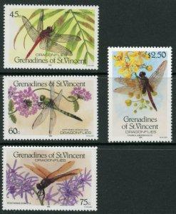 St. Vincent Grenadines Sc 546-9 Dragonflies: Brachymesia furcata