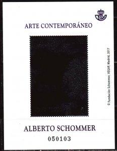 Spain. 2017. bl298. Alberto Schommer-picture. MNH.