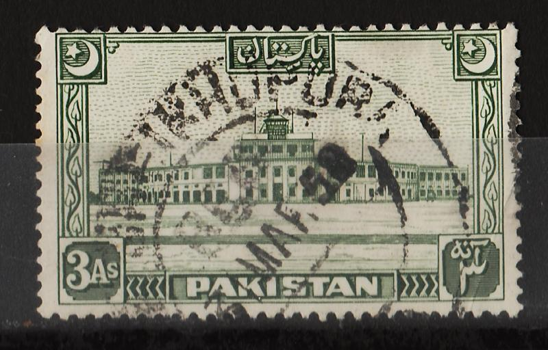 Pakistan 1949 Various Designs 3A (1/8) USED Sc(50)