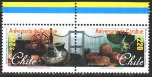 Chile. 2000. 1942-43. Caraue city, train, agriculture. MNH.
