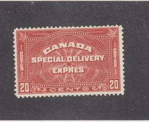 CANADA KSG55 # E5 VF-MNH 20cts EXPRESS SPECIAL DELIVERY CAT VAL $200