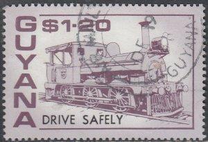 Guyana #1911c Used