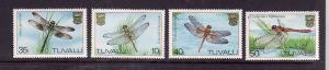 Tuvalu-Sc#200-3-unused NH set-Dragonflies-1983-