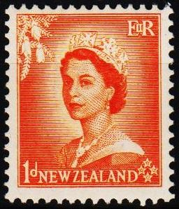 New Zealand. 1953 1d S.G.724 Mounted Mint