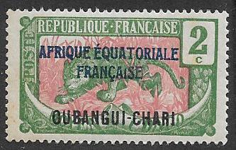 Ubangi-Shari  Scott  42  MNH