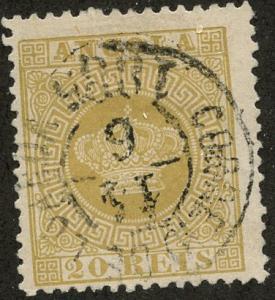 Angola, Scott #3, Used
