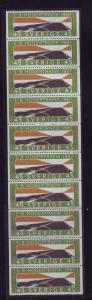 Sweden Sc736a 1967 Right Hand Driving stamp bklt pane NH