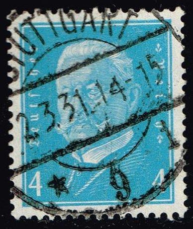 Germany #367 Paul von Hindenburg; Used (1.25)