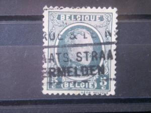 BELGIUM, 1922, used 5c, King Albert  Scott 147