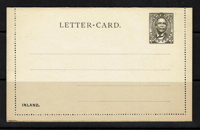 Liberia 3c Letter Card Entire, Unused - Lot 092417
