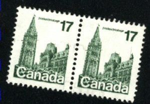 Can #790   pair   used VF 1979 PD