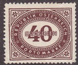 Austria J219 Unused 1947 Postage Due