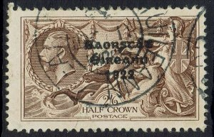 IRELAND 1935 KGV SEAHORSES 2/6 RE-ENGRAVED USED