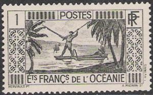 French Polynesia #80 Spear Fishing NG