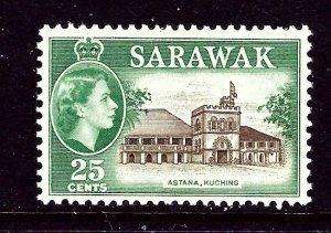 Sarawak 206 MNH 1957 issue    (ap3617)
