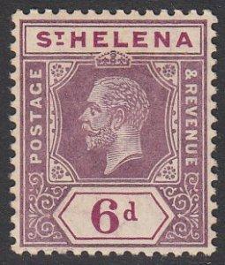 St. Helena 72 MH CV $4.75