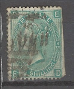 COLLECTION LOT # 3274 GB #48plate4 FAULTY 1865 CV=$225