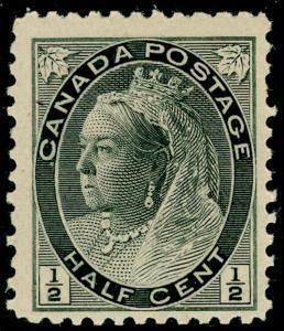 CANADA SG150, ½c black, NH MINT.