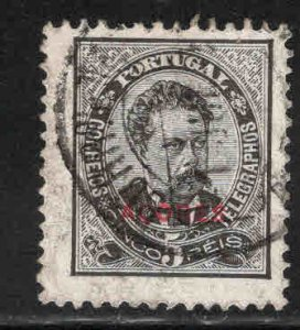 Azores Scott 58a Used perf 11.5 overprint