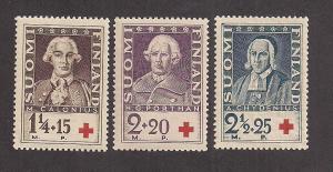 FINLAND SC# B18-20 VF MNH 1935