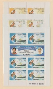 Kiribati Scott #373-378 Stamp - Mint NH Souvenir Sheet