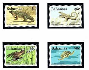 Bahamas 564-67 MNH 1984 Reptiles