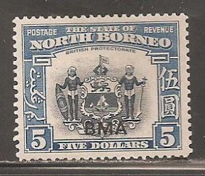 North Borneo  SC  222  Mint  Hinged
