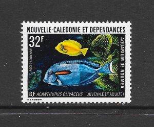 FISH - NEW CALEDONIA #C105  MNH