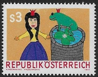 Austria - # 1181 - The Frog KIng - MNH